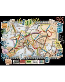 Les aventuriers du rail europe plateau