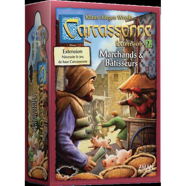 carcassonne : marchands et batisseurs boîte