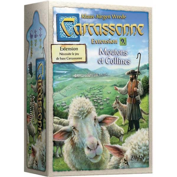 carcassonne : moutons et collines boîte