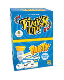 Time's Up Party Bleu