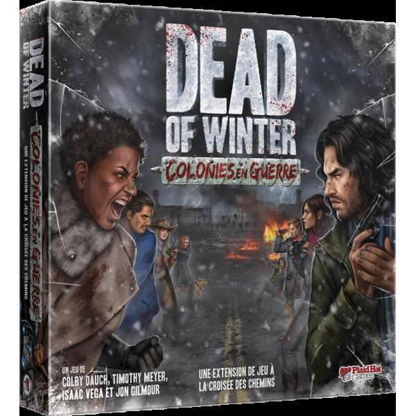 dead of winter : colonies en guerre boîte