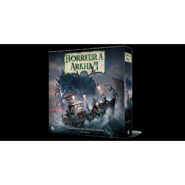 horreur à arkham : profondeurs insondables boîte