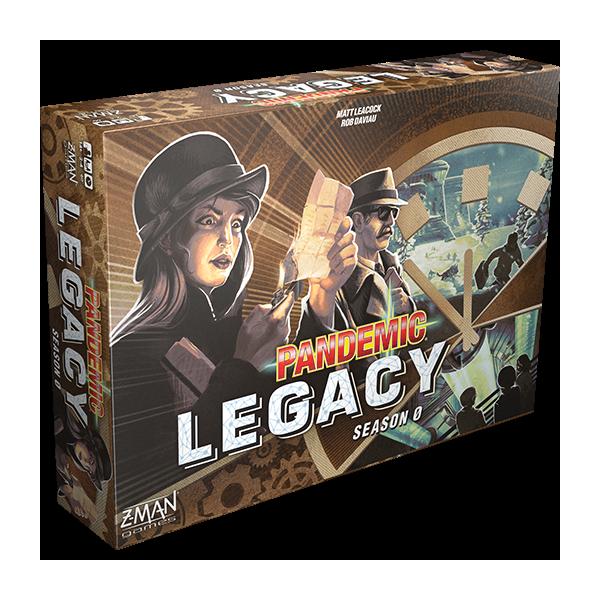 pandemic legacy : saison 0 (troisième épisode) boîte