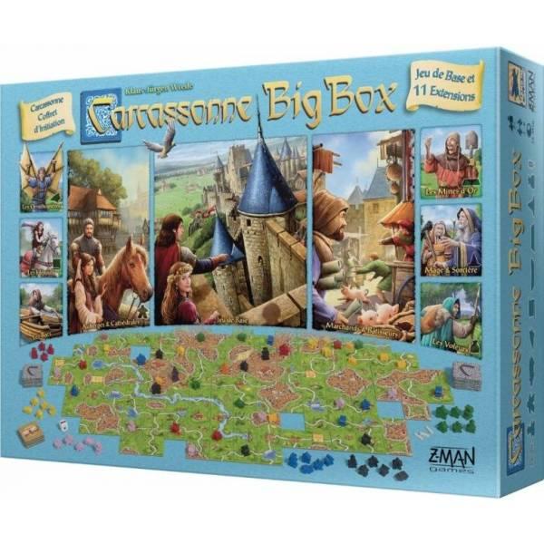 carcassonne big box boîte