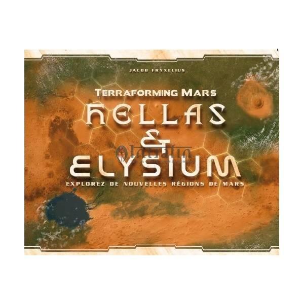 terraforming mars : hellas et elysium boîte