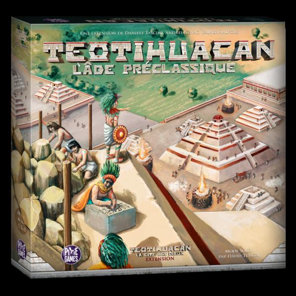 teotihuacan : l'âge préclassique boîte