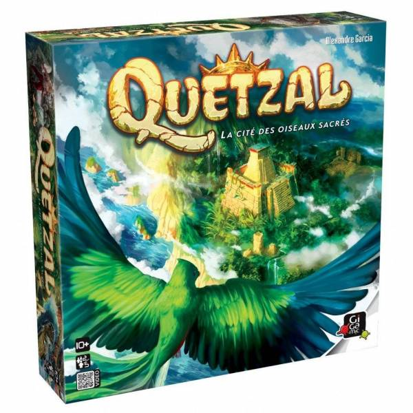 quetzal boîte