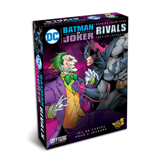 dc comics deck-building : rivals, batman vs joker boîte