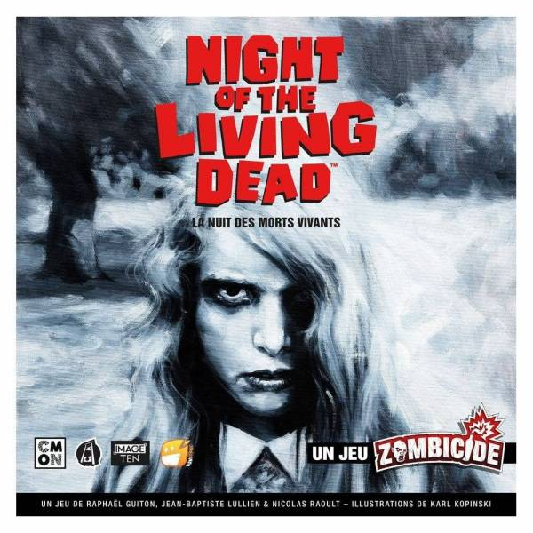 night of the living dead boîte