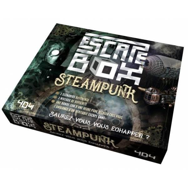 escape box : steampunk boîte