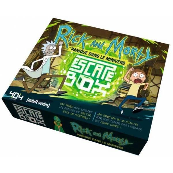 escape box : rick et morty boîte