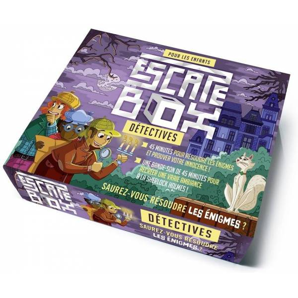 escape box : détectives boîte