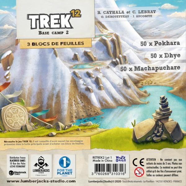 trek 12 : base camp 2 boîte