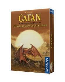 catan : trésors, dragons et explorateurs - extension boîte