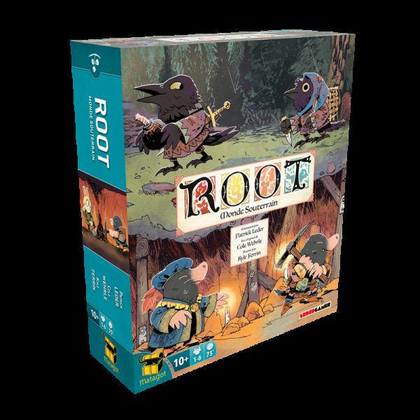 root : monde souterrain - extension boîte