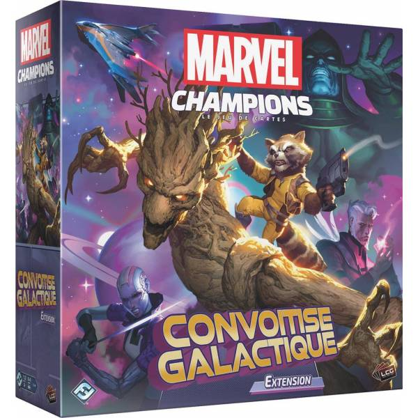 marvel champions : convoitise galactique - extension boîte