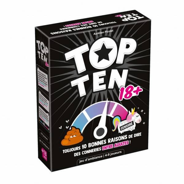top ten 18+ boîte