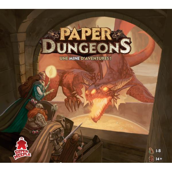 paper dungeons boîte