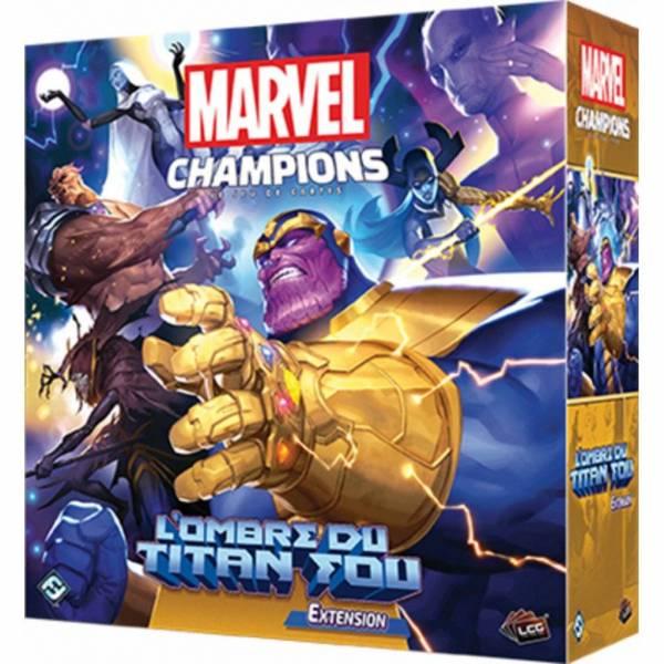 marvel champions : l'ombre du titan fou - extension boîte