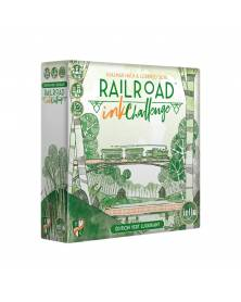 Railroad Ink Challenge Vert Luxuriant boîte