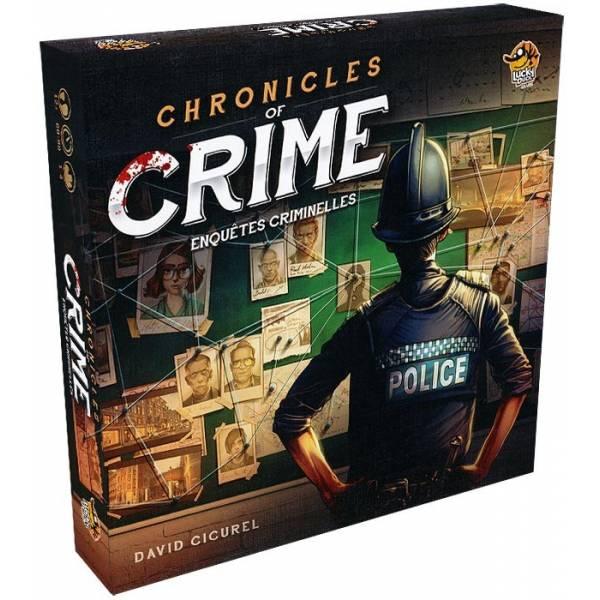 Chronicles of Crime - Enquêtes Criminelles boîte